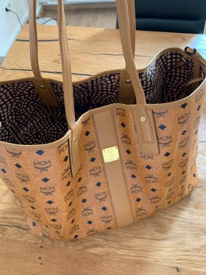 MCM Handbag beige-light brown