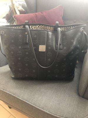 MCM Shopper noir-argenté