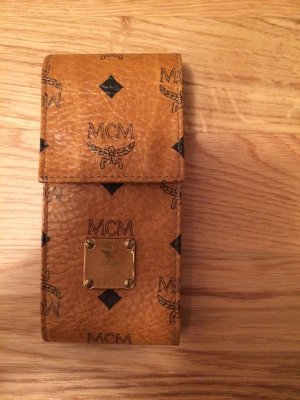 MCM Mini Bag bronze-colored leather