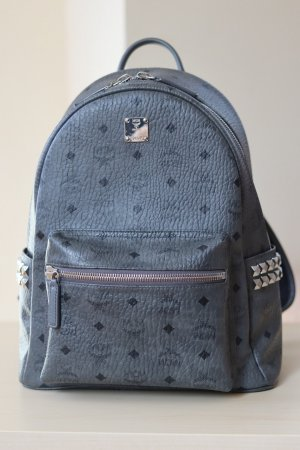 MCM School Backpack grey