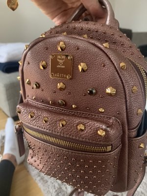 MCM Pouch Bag rose-gold-coloured