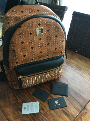Mcm Rucksack Limited Edition Gold Nieten / Large