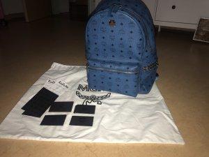 MCM Laptop Backpack cornflower blue