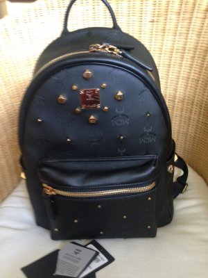 MCM Rucksack Stark Odeon Backpack Small Black