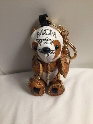 Mcm Schlüsselanhänger Bär braun weiß Blogger
