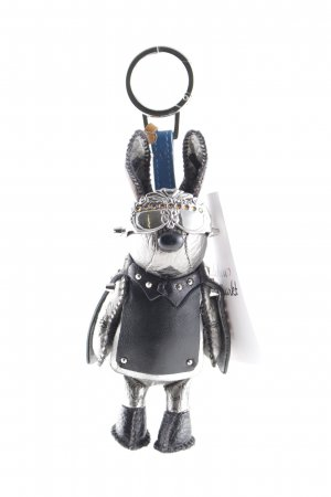 "MCM Portachiavi ""Rabbit Charm Silver-Colored"""