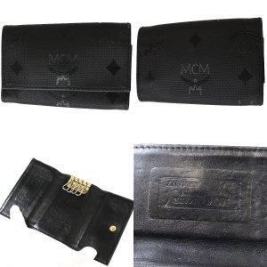 MCM Schlüsseletui Schwarz Edel.