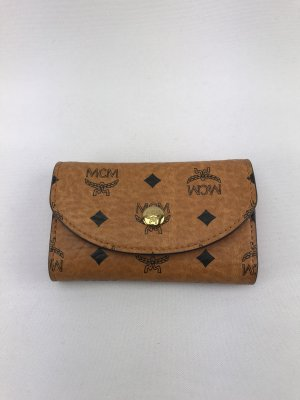 MCM Key Case cognac-coloured-orange