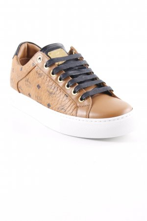 "MCM Schnürsneaker ""W Lace Up Sneakers Cognac"""