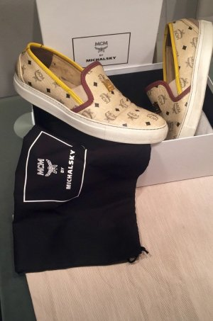 MCM Skater Shoes multicolored leather