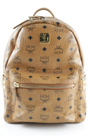 "MCM Schulrucksack ""Stark Backpack Medium 4 Cognac"""