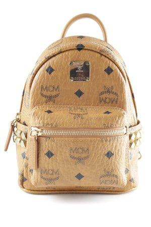 "MCM Schulrucksack ""Stark Backpack Xmini Cognac"""