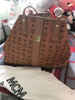 MCM Shopper light brown leather