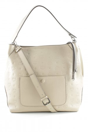 MCM Shoulder Bag cream elegant
