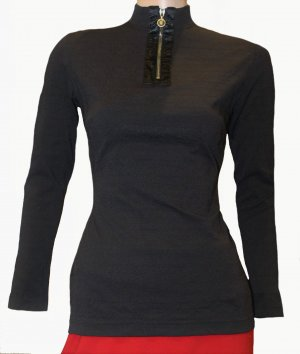MCM Shirt schwarz Sweatshirt Gr. 36/38