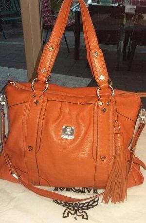 MCM Shopper russet-dark orange