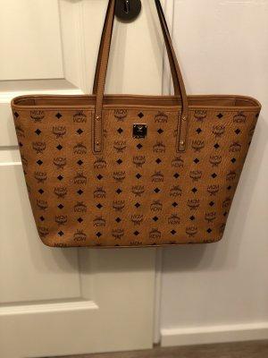 MCM Shopper cognac-coloured-light brown