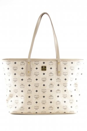 "MCM Shopper ""Anya Top Zip Shopper Medium Beige"""