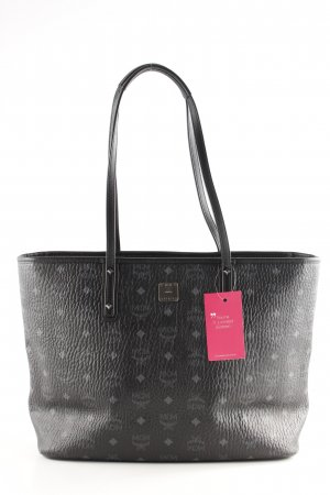 "MCM Shopper ""Anya Top Zip Shopper Medium Black"""