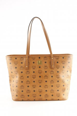 "MCM Shopper ""Anya Top Zip Shopper Medium Cognac"""
