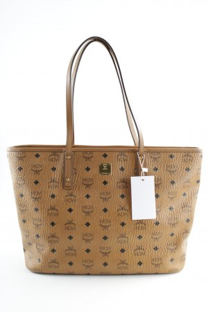 "MCM Shopper ""Anya Top Zip Shopper Medium Cognac"" cognac-coloured"