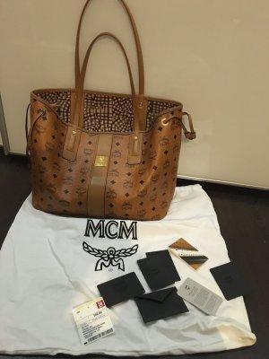 Mcm Shopper Bag cognac