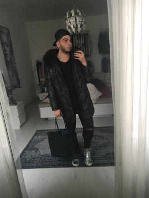 MCM Shopper Black Large