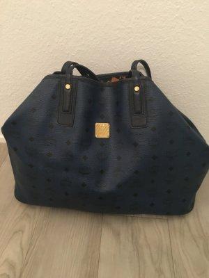 MCM Shopper blau, MCM Tasche