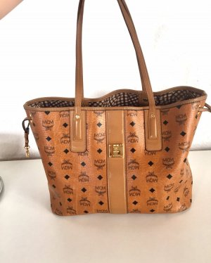MCM Shopper multicolored leather