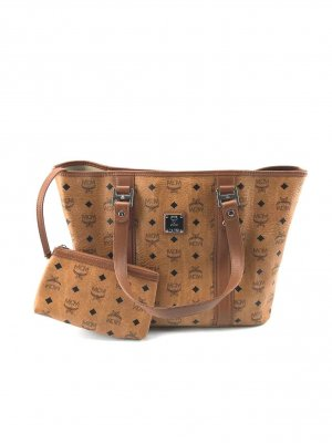 MCM Shopper cognac-coloured-brown
