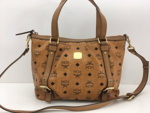 MCM Shopper brown leather