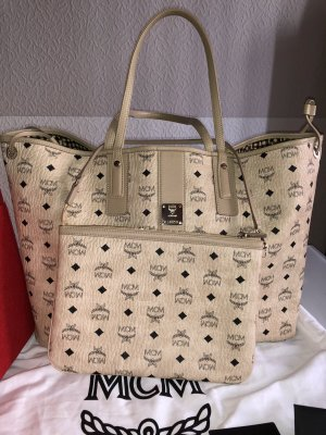 MCM Bag beige leather