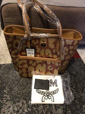 MCM Comprador coñac-color oro
