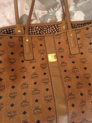 MCM Shopper cognac-coloured leather