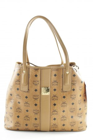 "MCM Shopper ""Liz Visetos Shopper Medium Cognac"""