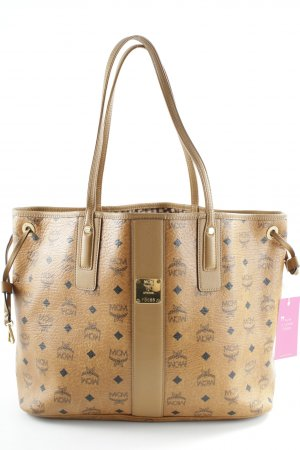 "MCM Shopper ""Liz Visetos Shopper Medium Cognac"" cognac-coloured"