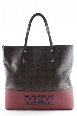 MCM Shopper Monogram-patroon extravagante stijl