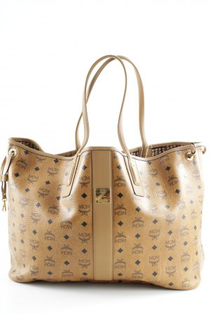 "MCM Shopper ""Shopper Project Vintage Liz Reversible Large Cognac"""