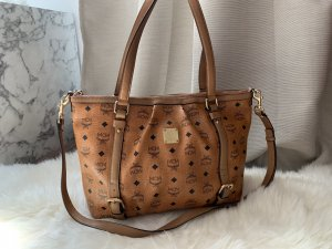 MCM Shoulder Bag cognac-coloured