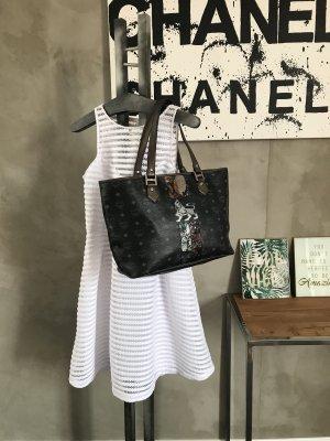 MCM Shopper black-bronze-colored