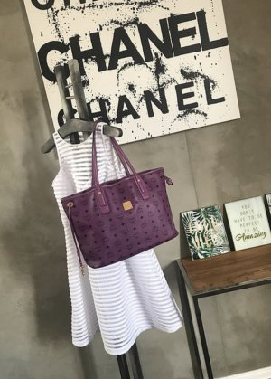 MCM Shopper lilac-lilac