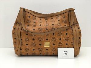 MCM Shoulder Bag cognac-coloured-black