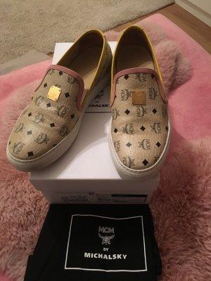 MCM Slip-on Sneakers beige