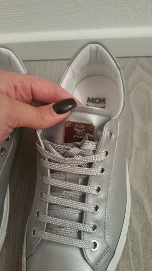 MCM Lace-Up Sneaker multicolored