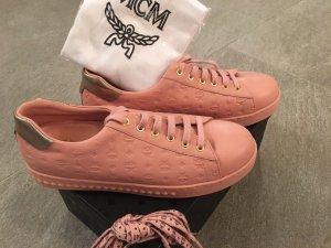 MCM Sneaker rosa/ gold mit Ersatz Schnürern/ Karton und Staubbeutel NEU!!