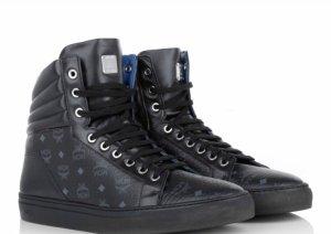 MCM Sneaker schwarz/blau