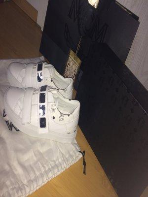 MCM sneaker Silber weiß