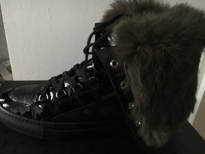 MCM Sneaker nero Pelle