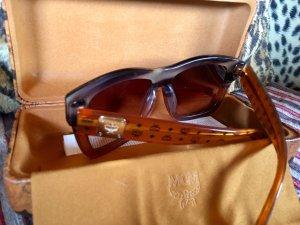 MCM Lunettes de soleil cognac