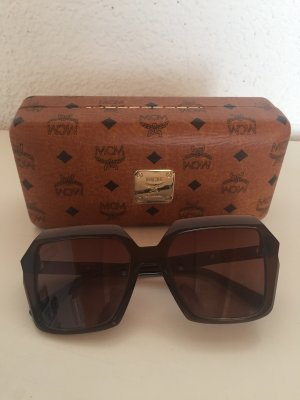 MCM Sonnenbrille hardcase braun cateye